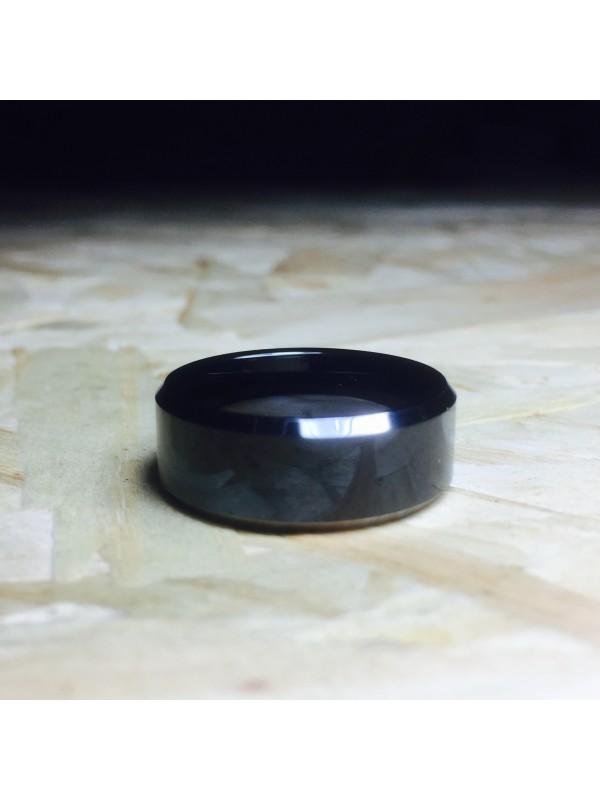 Aliança De Tungstênio Érebo 8mm