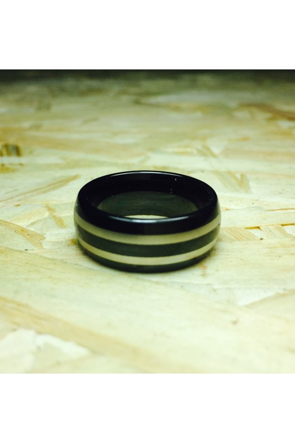 Aliança De Tungstênio Saturno 8mm